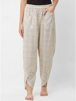 Relaxed Checked Lounge Pant