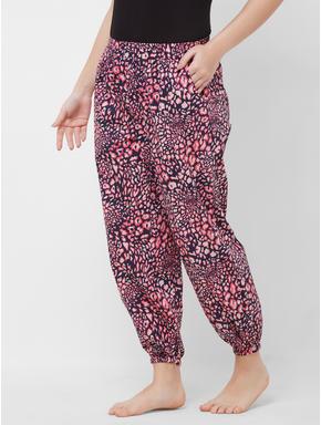 Animal Print Woven Pyjama