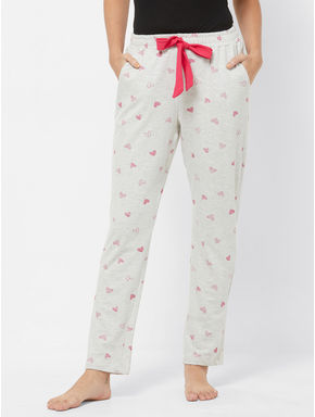 Winter Heart Print Pyjama