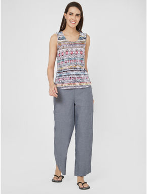 Stylish Top Lounge Pant Set