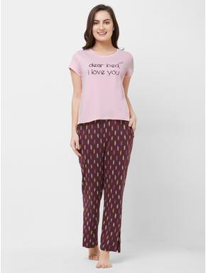 Abstract Pajama Set