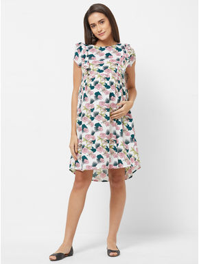 Maternity Floral Dress