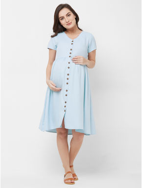 Maternity Button Down Dress