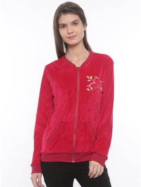 Butterfly Velour Jacket