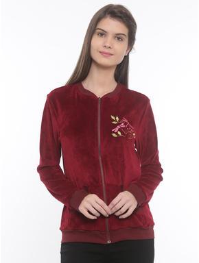 Butterfly Velour Jacket