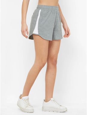 Chic Textured Sports Shorts