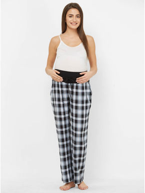 Checked Maternity Pyjamas