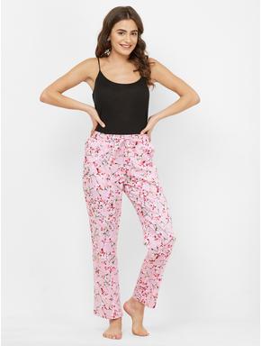 Satin Floral Print Pyjamas