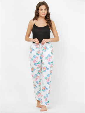 Tropical Floral Print Pyjamas