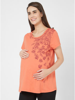 Maternity Floral T-shirt