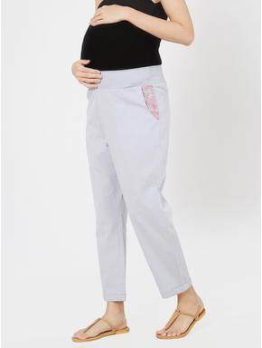 Maternity Chambray Lounge Pants