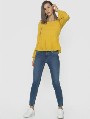 Yellow Smock Top