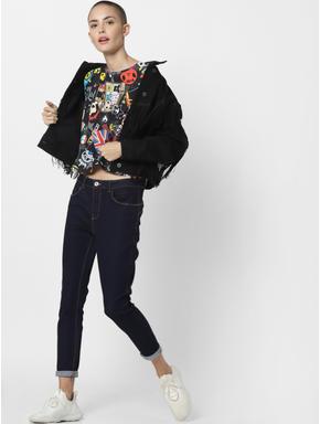 x Tokidoki Black Punkstar Print T-shirt