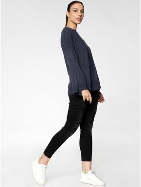 Navy Blue Pullover