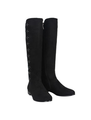 Black Knee Length Boots