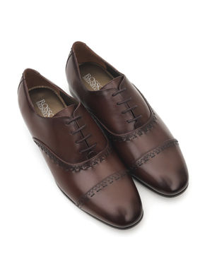 Brown Oxford Lace-Ups