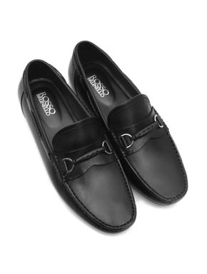 Plain Patent Leather Moccasins
