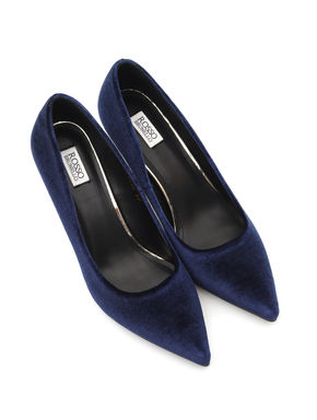 Plain Suede Heels