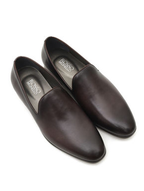Dual Tone Grey Loafers