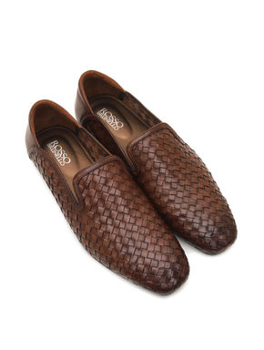 Hand Made Weave Loafers