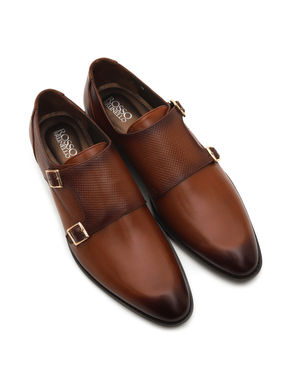 Weave Printed Monk Strap