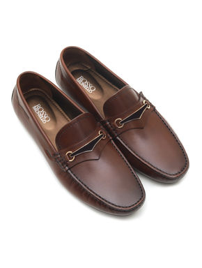 PANELLED MOCCASIN