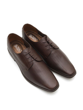 Coffee Derby Shoes