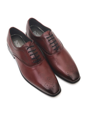 Dual Tone Formal Lace-Ups