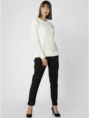 Off-White Striped Sweater