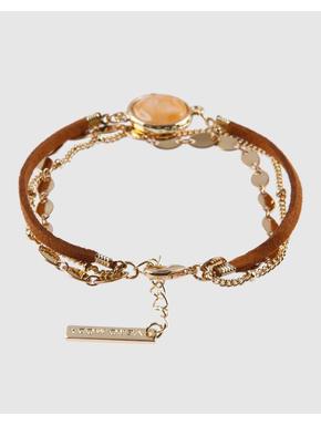 Tan Layered Bracelet