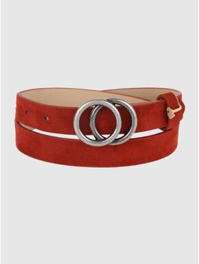 Brown Ring Buckle Belt