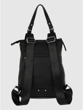 Black Outer Pouch Backpack