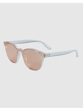 Beige Wayfarer Sunglasses