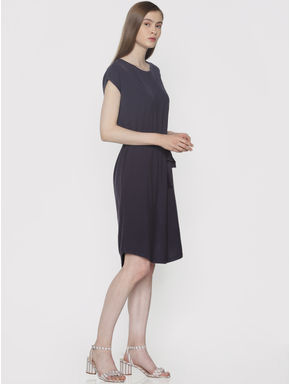 Navy Blue Shift Dress