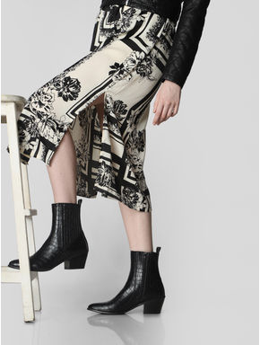 Black Ankle Length Boots