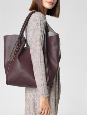 Burgundy Tote Bag