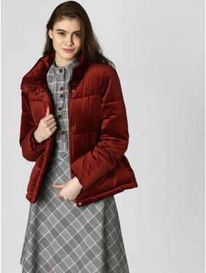 Dark Brown Velvet Jacket