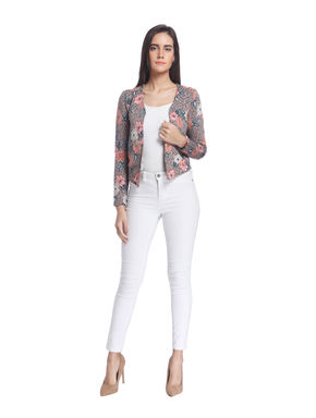 Floral Casual Jacket