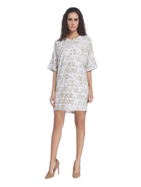 Printed Casual Mini Dress