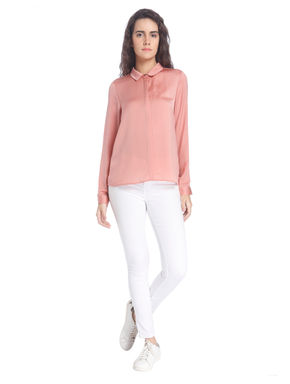 Dusty Pink Solid Shirt