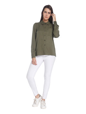 Embroidery Casual Shirt