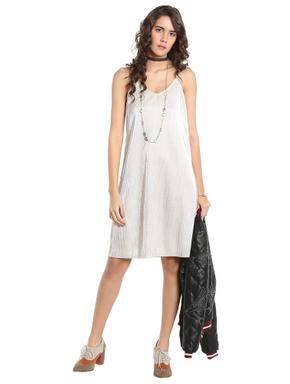 Cream Mini Dress
