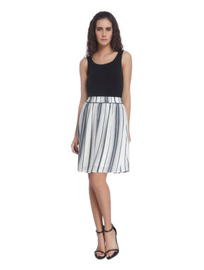Striped Casual Skirt