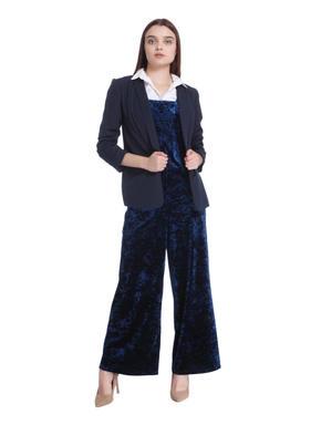 Blue Velvet Dungaree