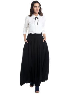 White String Detail Shirt