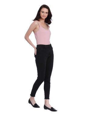 Black High Waist Super Skinny Jeans