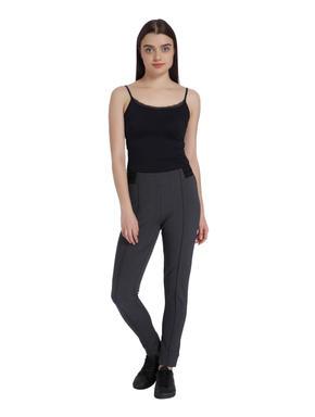 Dark Grey Slim Leggings