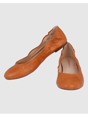 Rust PU Ballet Flats