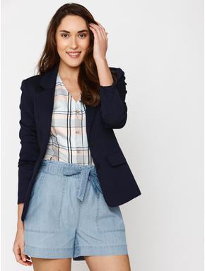 Navy Blue Slim Fit Blazer
