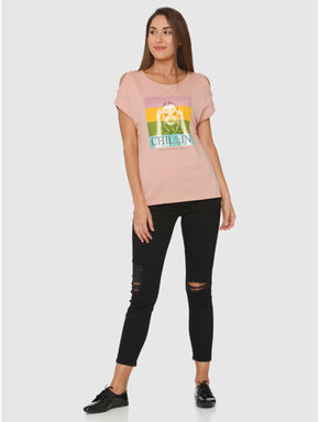 Rose Graphic Print T-shirt